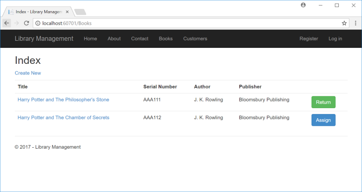 Library Management using ASP Net MVC (Part 6) Borrowing and